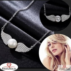 Pearl Angel Necklace