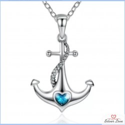 Anchor of Hope Pendant Necklace