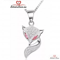 Charming Fox Pendant Necklace