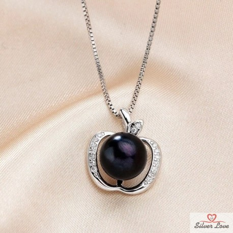 Apple of Sin Pendant Necklace