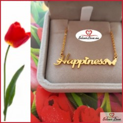Customized Necklace With Your Name (TEXT) On It