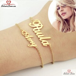 Customized Bracelet With Your Name (TEXT) On It