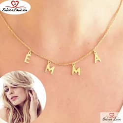 Customized Necklace With  Letters