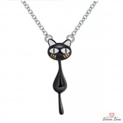Affectionate Kitty Necklace