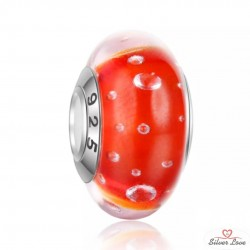 Colorful Murano Passion Charm