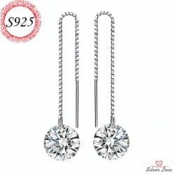 Unforgettable Earrings - white color