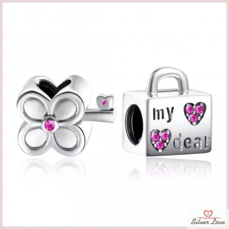The Road to Happiness Charm-Set