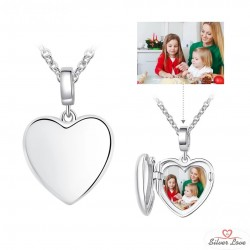 You Are inMy Heart Photo Pendant Necklace