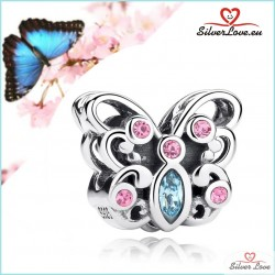 Exotic Butterfly Charm